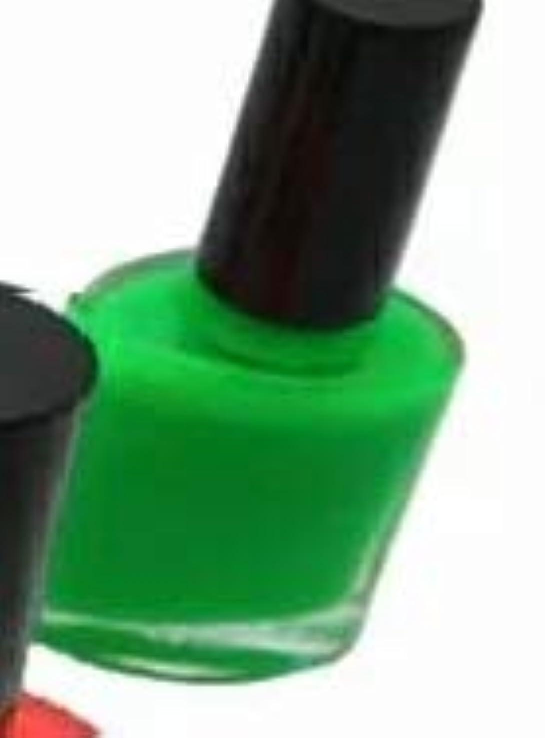 ポルティコ標準定数蛍光ペイント 5ml つけ爪用  (蛍光グリーン)