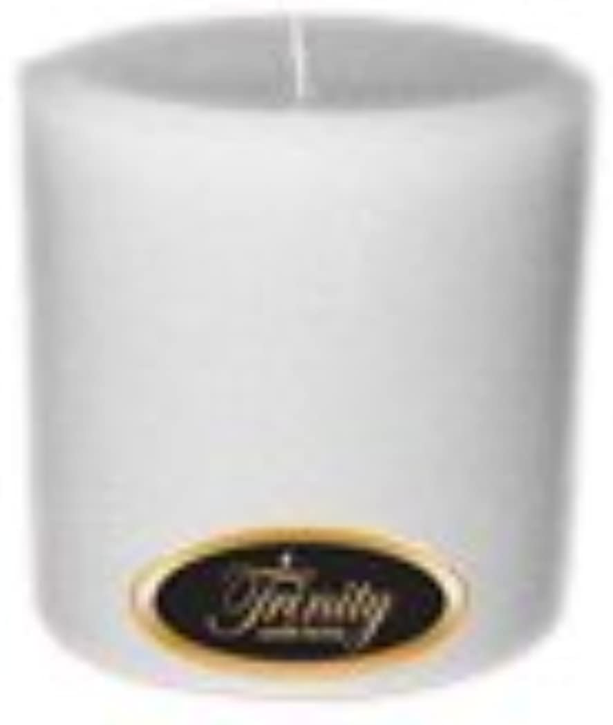 染色他の日磨かれたTrinity Candle工場 – Magnolia – Pillar Candle – 4 x 4