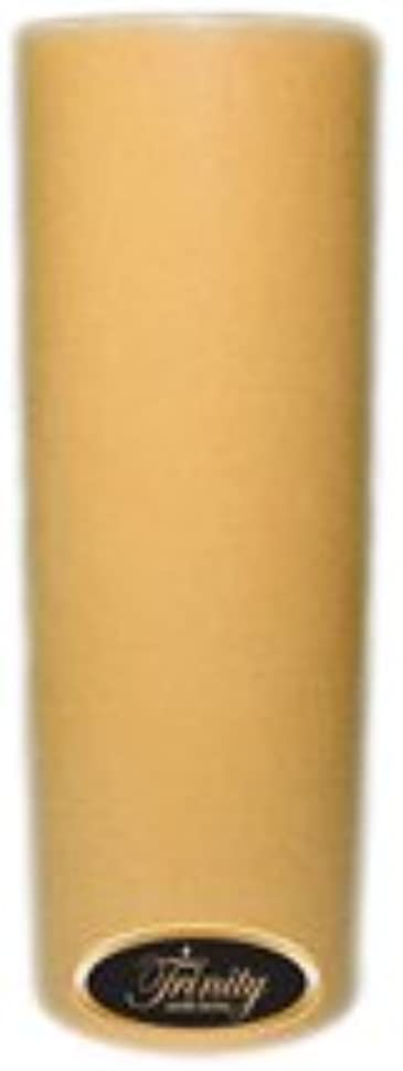 物理的により良い合金Trinity Candle工場 – レザー – Pillar Candle – 3 x 9