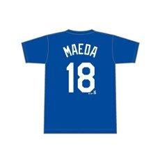 MLB ロサンゼルスドジャース 前田健太(#18) ネーム&ナンバー・・・