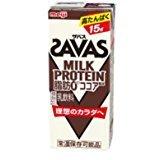 明治 ザバス ミルクプロテイン 脂肪 0 ココア風味 200ml×24本