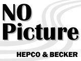 ヘプコ&ベッカーGPZ 550 '84--86 [ZX550--A1--A5], サイド + トップ ケースホルダー --ブラック-- 並行輸入品