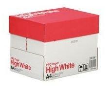 PPC PAPER High White A4 2500枚(500枚×5冊) 10PPCHWA4N
