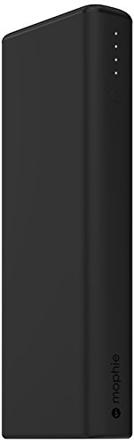 mophie power boost XL v2 (大容量 10400mAh USB×2ポート 急速充電対応 モバイルバッテリー) 最大4.2A出力 iPhoneAndroid対応  (ブラック 黒) 正規代理店品 MOP-BY-000157