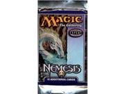 1 (One) Pack of Magic the Gathering MTG Nemesis Booster Pack (15 Cards)