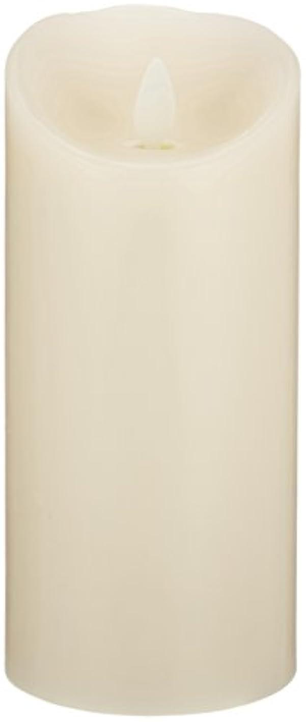 夕食を作るフォーマルに沿ってLUMINARA(ルミナラ)ピラー3×6【ギフトボックスなし】 「 アイボリー 」 03070020IV