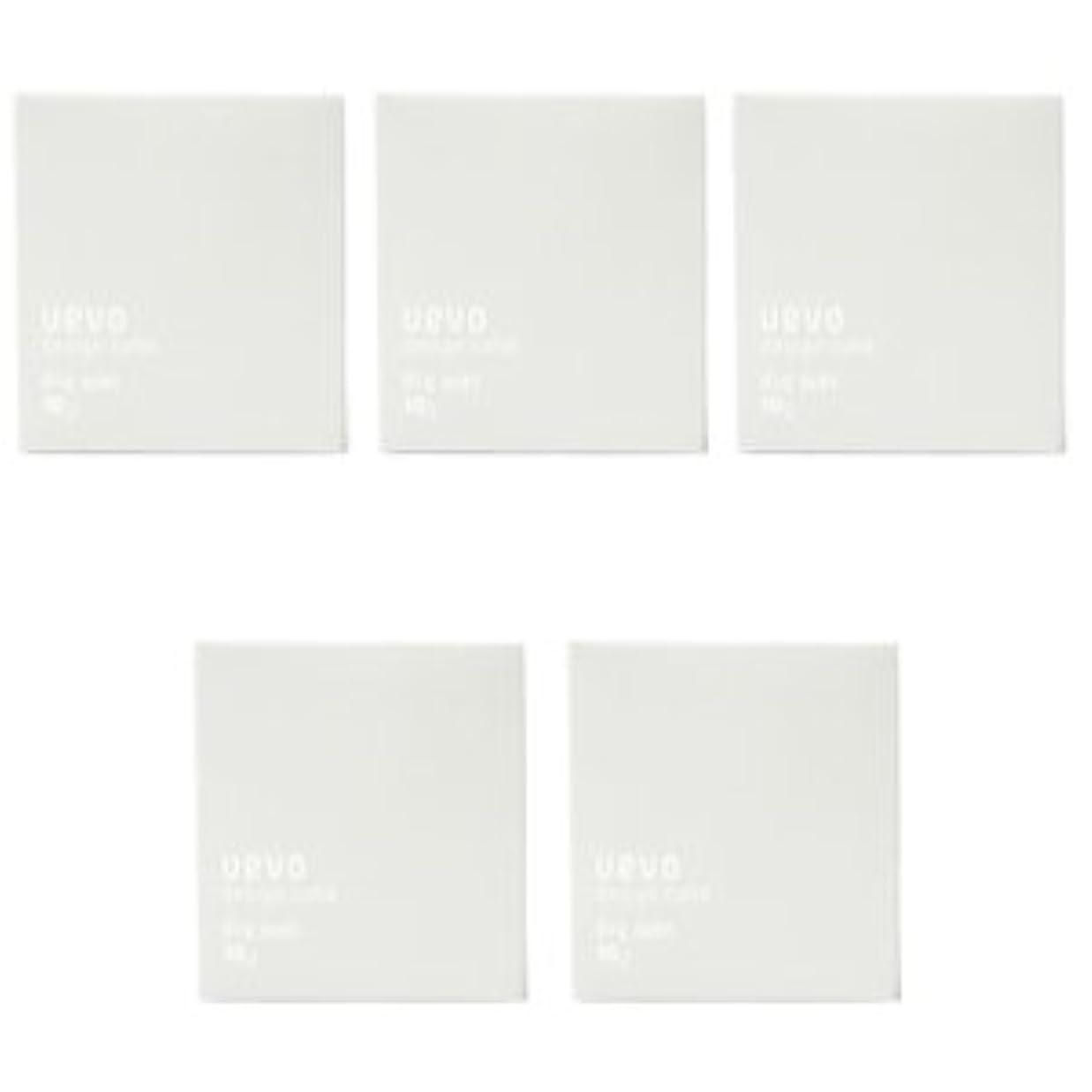 説得キャンプ反射【X5個セット】 デミ ウェーボ デザインキューブ ドライワックス 80g dry wax DEMI uevo design cube