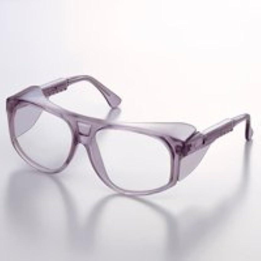 詐欺師好みランダムメガネ クリスタルフレーム UL-250-TBPCHF JISPCHF 保護メガネ スペクタクル形