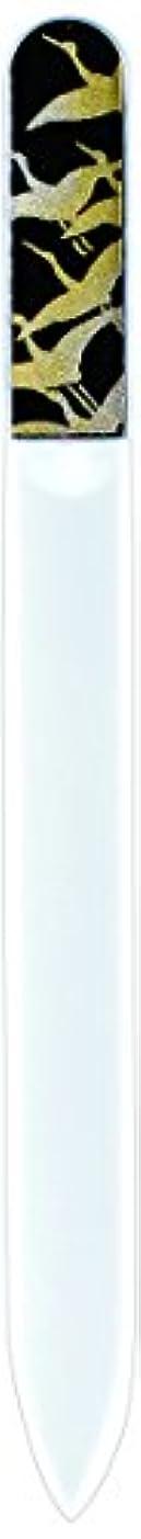 農場エンゲージメント輝く橋本漆芸 ブラジェク製高級爪ヤスリ 千羽鶴 紙箱