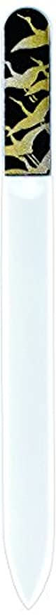 ハウスチャンピオンシップ援助橋本漆芸 ブラジェク製高級爪ヤスリ 千羽鶴 紙箱