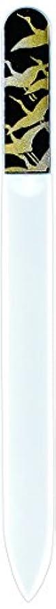 ループ聖職者例外橋本漆芸 ブラジェク製高級爪ヤスリ 千羽鶴 紙箱