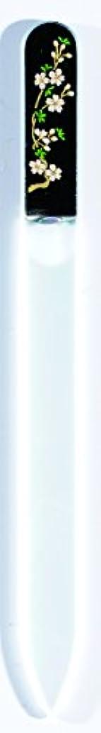鷹有力者持ってる橋本漆芸 ブラジェク製高級爪ヤスリ 三月 桜 OPP