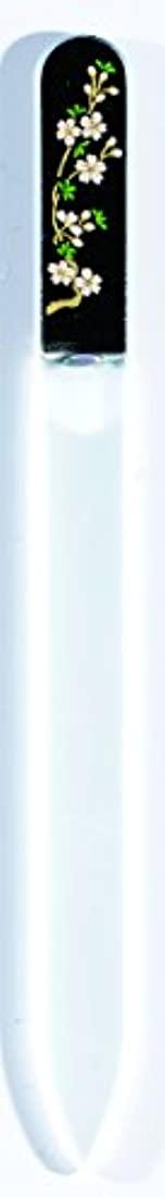 眉褒賞チャールズキージング橋本漆芸 ブラジェク製高級爪ヤスリ 三月 桜 OPP