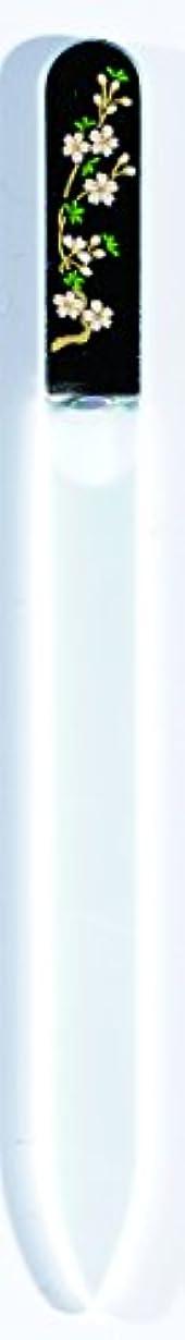 ラバチャンピオンシップ悪性腫瘍橋本漆芸 ブラジェク製高級爪ヤスリ 三月 桜 OPP