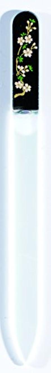 退却シエスタ殺人橋本漆芸 ブラジェク製高級爪ヤスリ 三月 桜 OPP