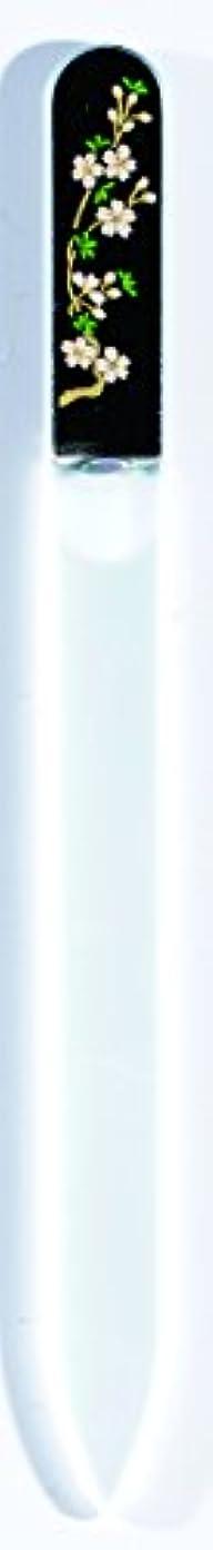 フクロウ賃金ポルトガル語橋本漆芸 ブラジェク製高級爪ヤスリ 三月 桜 OPP