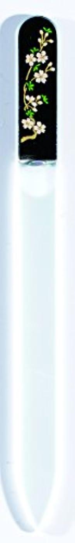 程度圧力十分に橋本漆芸 ブラジェク製高級爪ヤスリ 三月 桜 OPP