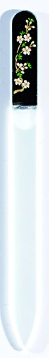 橋本漆芸 ブラジェク製高級爪ヤスリ 三月 桜 OPP