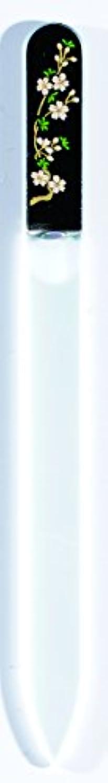 信号に負けるモノグラフ橋本漆芸 ブラジェク製高級爪ヤスリ 三月 桜 OPP
