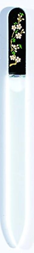霊マウス咳橋本漆芸 ブラジェク製高級爪ヤスリ 三月 桜 OPP