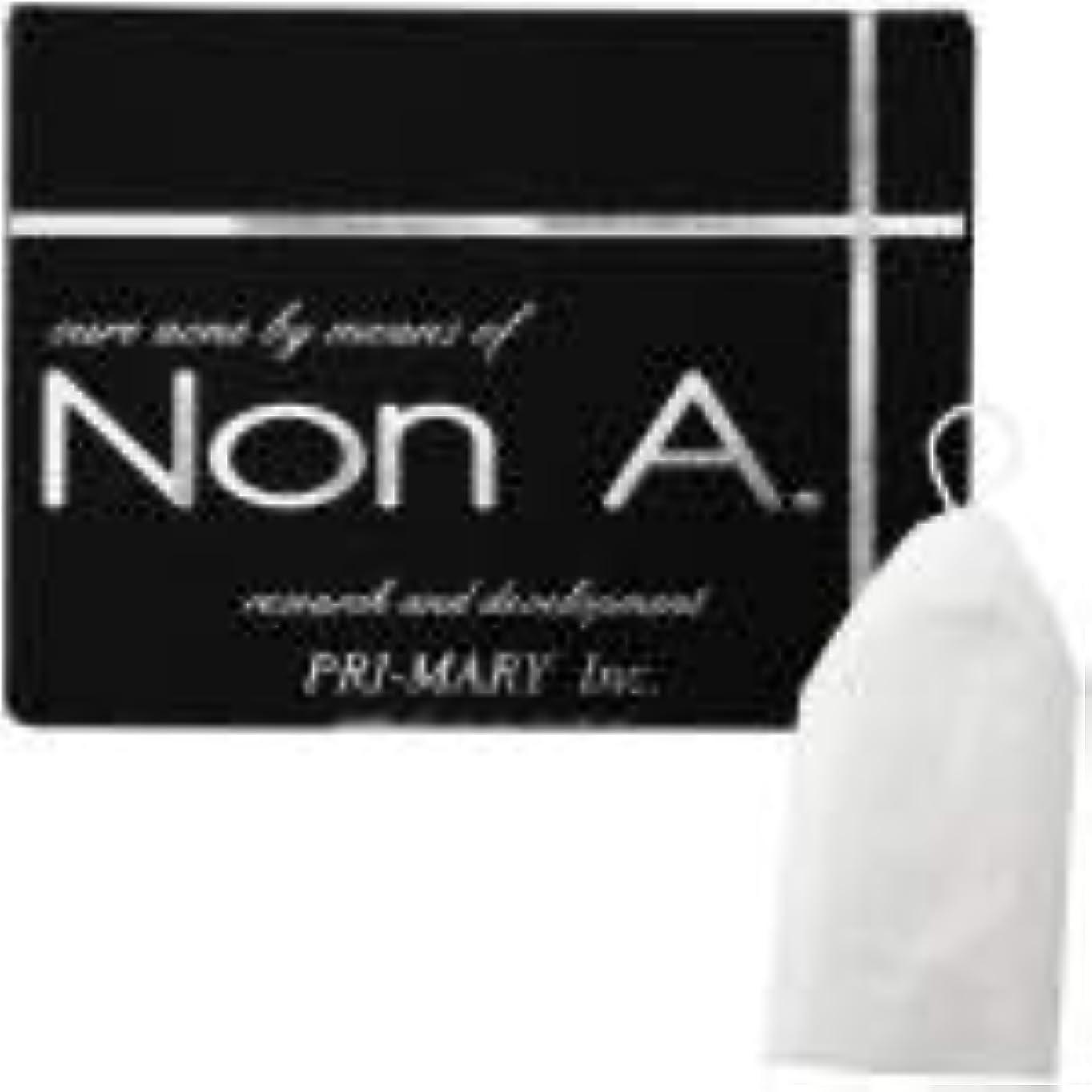 迷彩マイクロプロセッサ十分にNon A. (ノンエー) 洗顔ソープ [ ニキビ対策 / 100g / 洗顔泡立てネット付 ] 洗顔せっけん ピーリング成分不使用 (プライマリー)