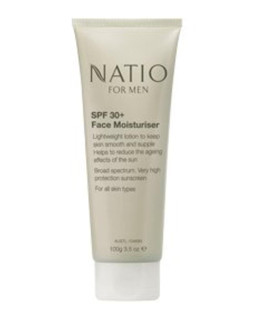 前任者前任者支払い【NATIO FOR MEN SPF 30+ Face Moisturiser】 ナティオ  SPF 30+ フェイス モイスチャライザー [海外直送品]