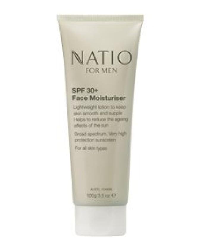 つま先ニッケルダム【NATIO FOR MEN SPF 30+ Face Moisturiser】 ナティオ  SPF 30+ フェイス モイスチャライザー [海外直送品]