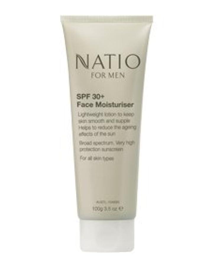 区かわすシアー【NATIO FOR MEN SPF 30+ Face Moisturiser】 ナティオ  SPF 30+ フェイス モイスチャライザー [海外直送品]