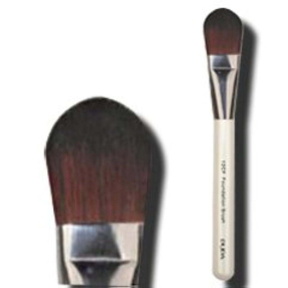 ネクタイよりむき出しメイクブラシ 化粧筆 リキッドファンデーションブラシ(平) C-12CF