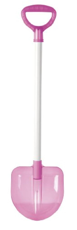 光沢のあるスパイ蛇行キャプテンスタッグ(CAPTAIN STAG) ジュニアスコップ剣型 クリアピンク UX-563