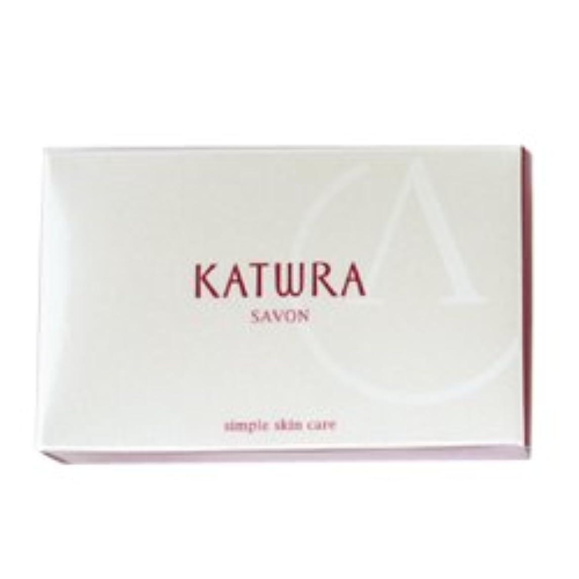 タイヤマウス石のカツウラ KATWRA サボンA グリーンフローラルの香り 100g