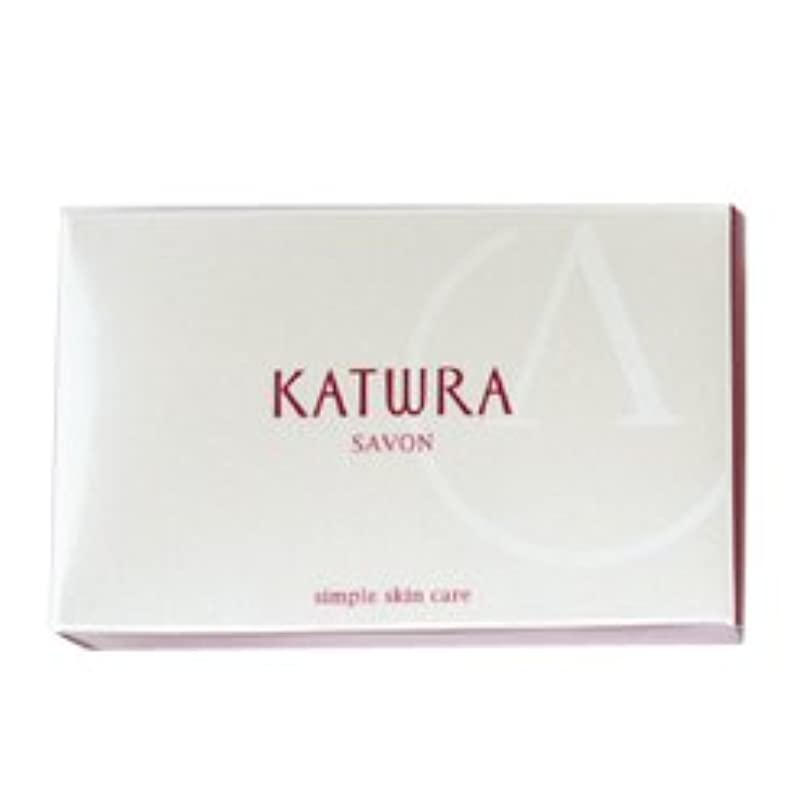 夢邪悪な一般化するカツウラ KATWRA サボンA グリーンフローラルの香り 100g