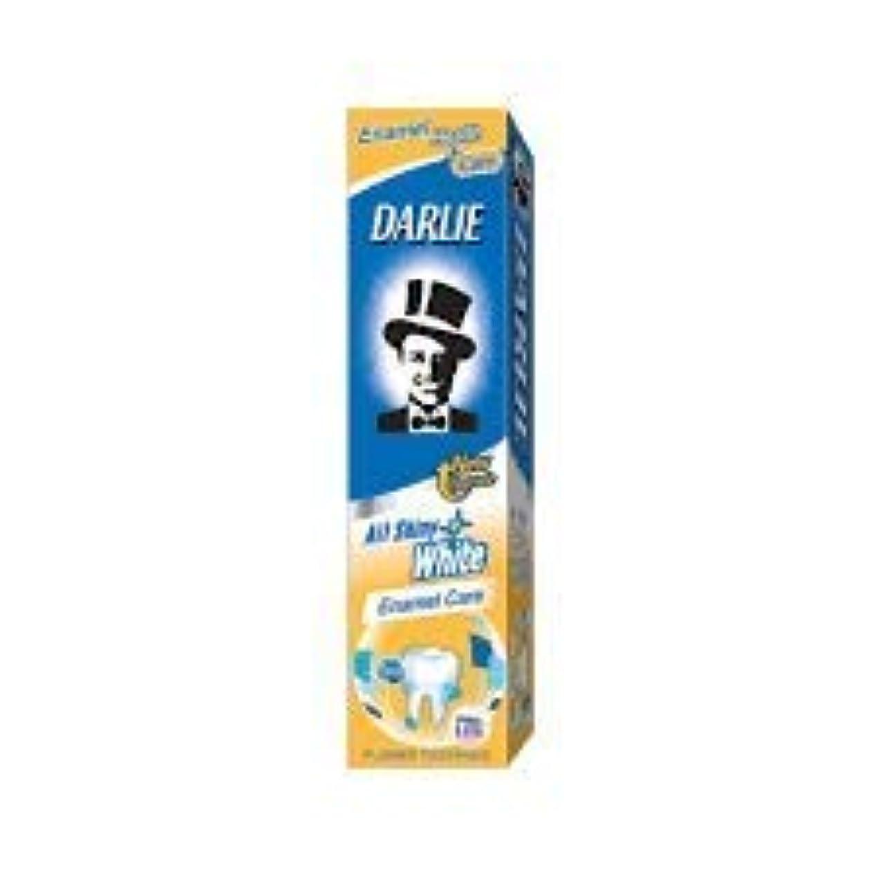 ヘッドレスエジプト未満DARLIE 含むフッ素戦うされたチャンバと、歯を保護する - 全て歯磨き粉光沢のある白色エナメル140グラム気