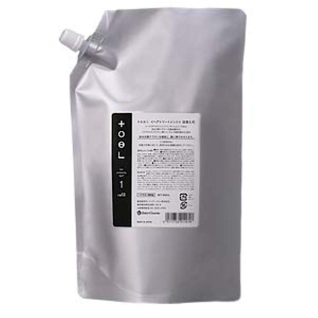 柔らかい足絶壁作り上げるインターコスメ トエル1 800mL 詰替え用 <ヘアトリートメント>