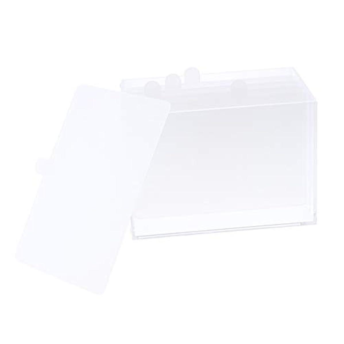 ソフィー分割ファイターDYNWAVE ネイルスタンド アクリル 5グリッド ネイルアートデスクトップ ストレージホルダー