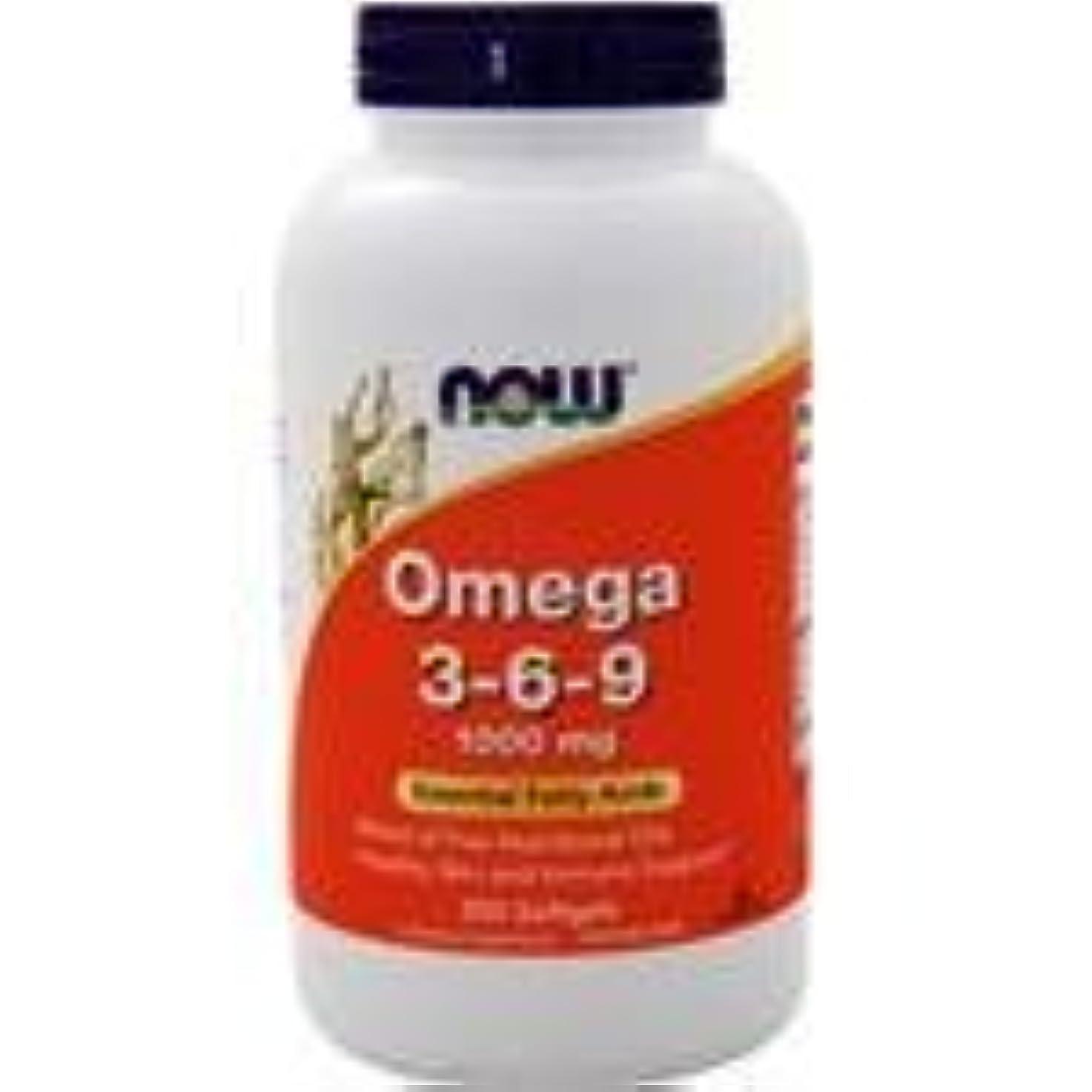 オメガ3-6-9 (1000mg) 250 sgels 5個パック
