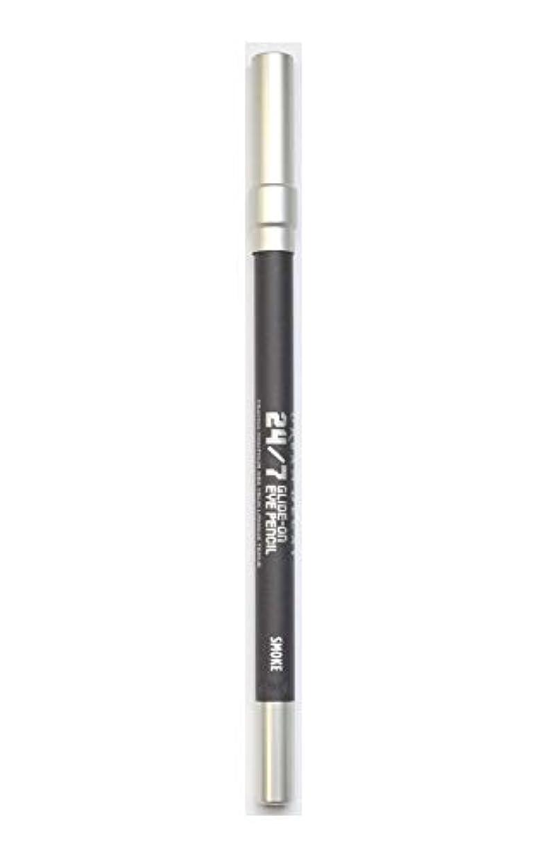 宅配便媒染剤ウォーターフロントアーバンディケイ 24/7グライドオンウォータープルーフアイペンシル 1.2g/0.04oz Smoke