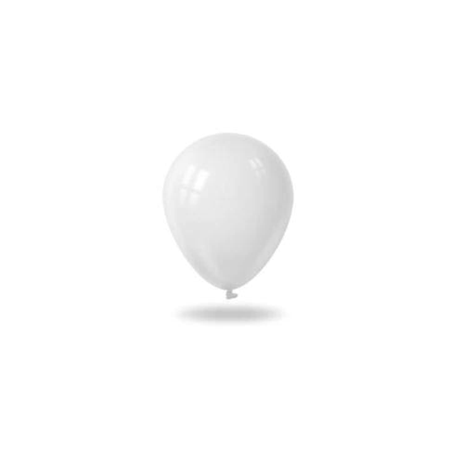 FidgetGear New 100Pcs Latex Balloons Wedding Supplies Party Decoration Birthday White