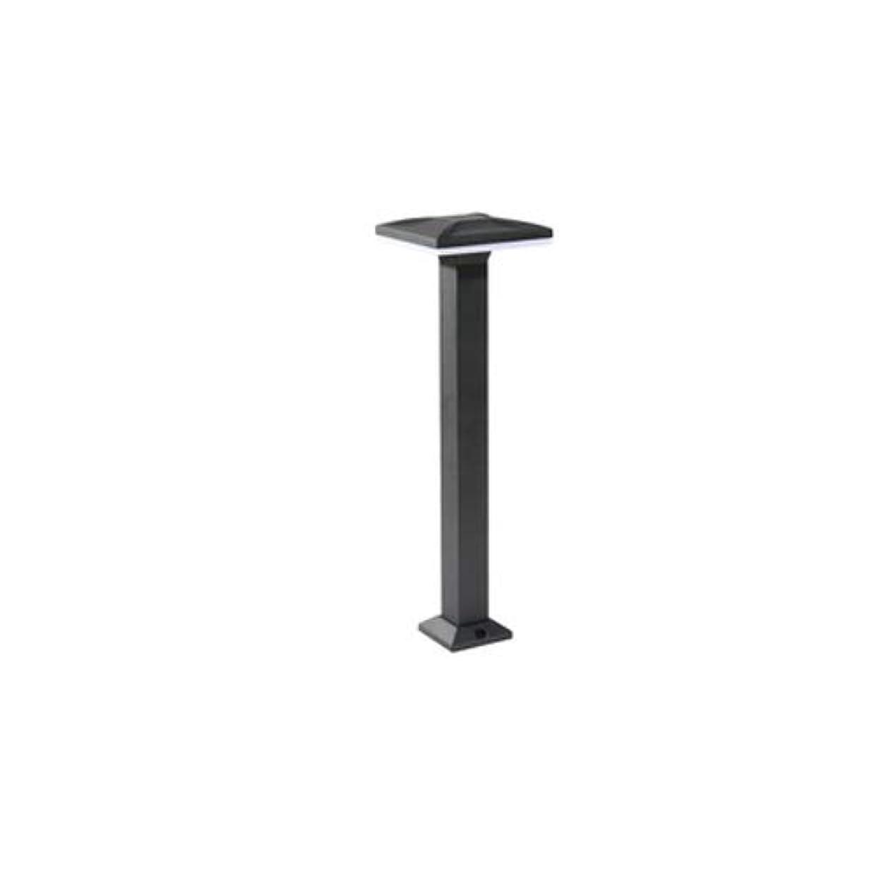 悲鳴本部終わりPinjeer Led 4スタイルオプションブラックアルミポストライト現代クリエイティブ屋外防水柱ライトガーデンパークストリート芝生ホームヴィラ装飾照明コラムランプ (Color : Style-D, サイズ : Warm light)
