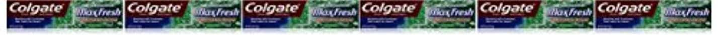 自然掻く無能Colgate ミニブレスストリップ、クリーンミント、6オンス(6パック)でマックス新鮮なハミガキ 6パック クリーンミント
