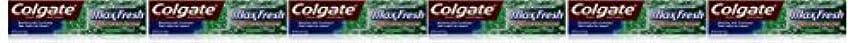 頭かみそりスティックColgate ミニブレスストリップ、クリーンミント、6オンス(6パック)でマックス新鮮なハミガキ 6パック クリーンミント
