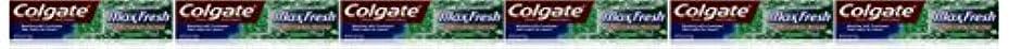 Colgate ミニブレスストリップ、クリーンミント、6オンス(6パック)でマックス新鮮なハミガキ 6パック クリーンミント
