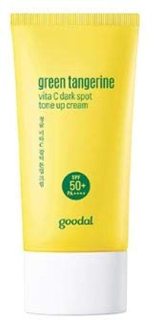 濃度手足平手打ち[Goodal] Green Tangerine vita C Tone up Cream / [グーダル] グリーン タンジェリン ビタC トーンアップ サン クリーム [並行輸入品]