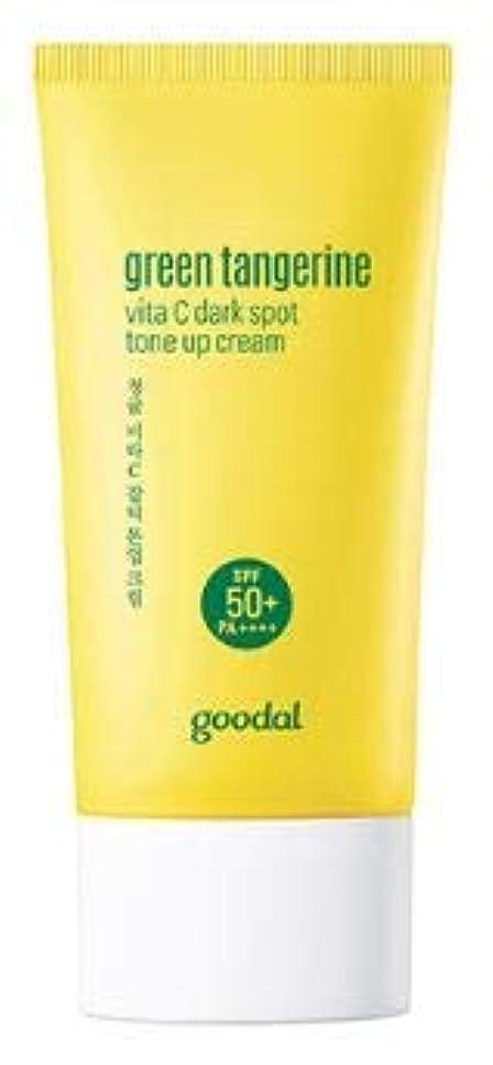 心配鉄織機[Goodal] Green Tangerine vita C Tone up Cream / [グーダル] グリーン タンジェリン ビタC トーンアップ サン クリーム [並行輸入品]