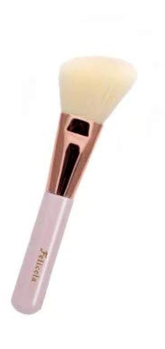 名前圧縮されたブレスフェリセラSCチークブラシ(先斜) FEBSC1001 メイク 化粧 ブラシ フェイス 肌 チーク ハイライト シェーディング やさしい なめらか 透明感 携帯 便利 かわいい