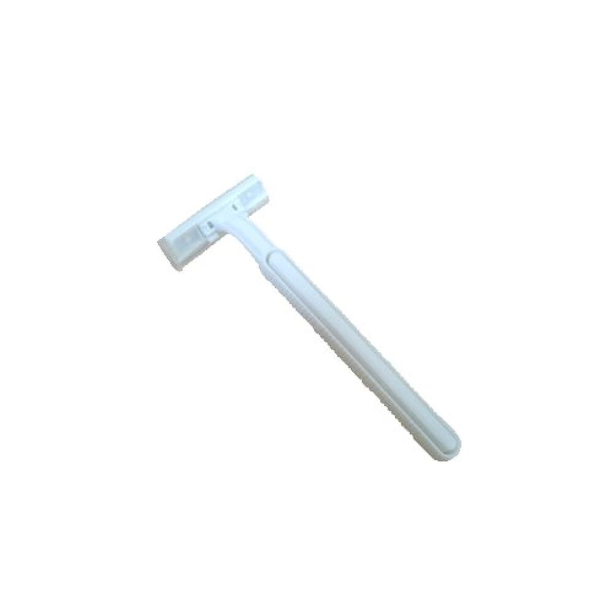 先例ではごきげんよう場合ホテル 業務用 使い捨てカミソリ 2枚刃 × 1000個セット (SWE-01)