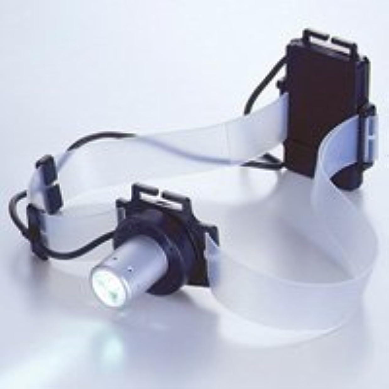 スチールひいきにする失速LEDヘッドライトシリコンバンド付 高輝度白色LED1灯 SLE-2