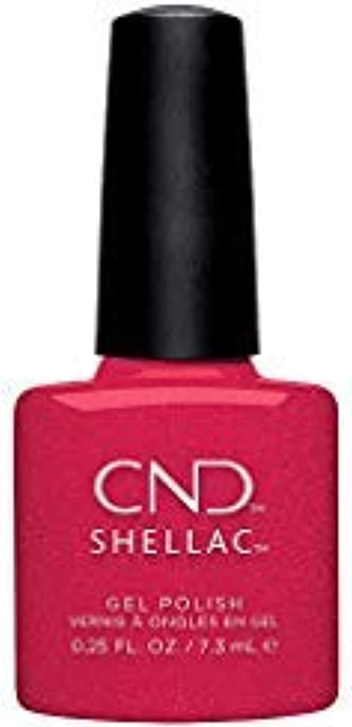 贅沢貧困経済的CND Shellac - Night Moves Collection - Kiss of Fire - 0.25 oz / 7.3 oz