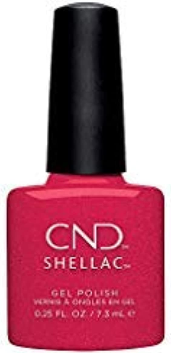 まどろみのあるそれるまたねCND Shellac - Night Moves Collection - Kiss of Fire - 0.25 oz / 7.3 oz