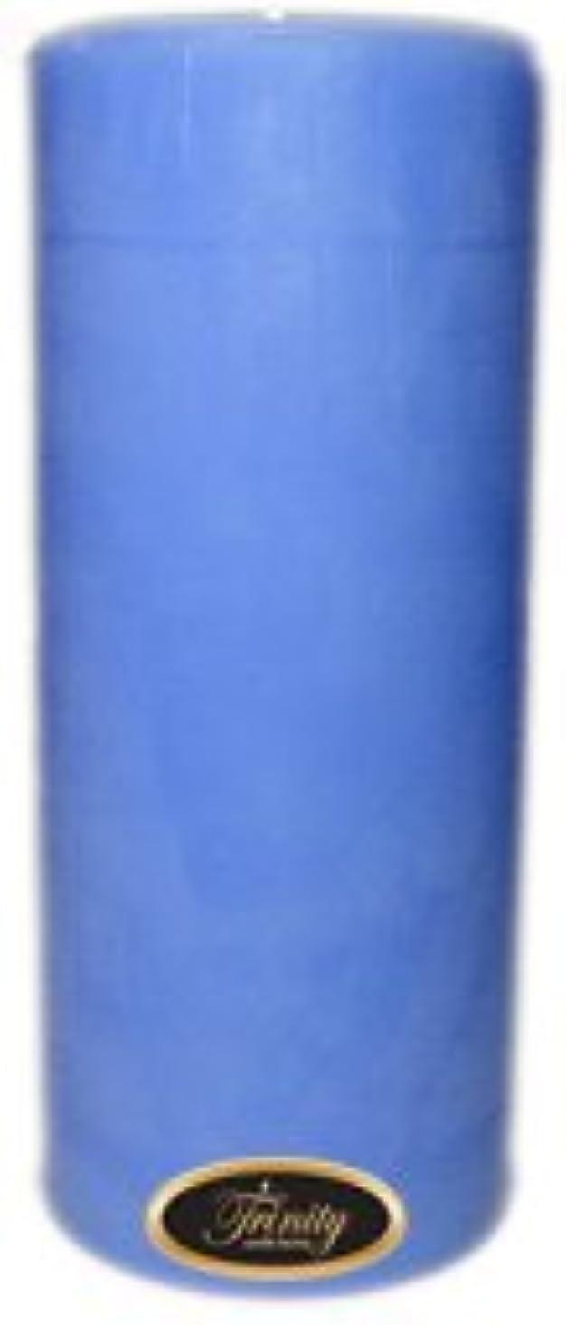 シェーバーコーデリア強盗Trinity Candle工場 – ベビーパウダー – ブルー – Pillar Candle – 4 x 9